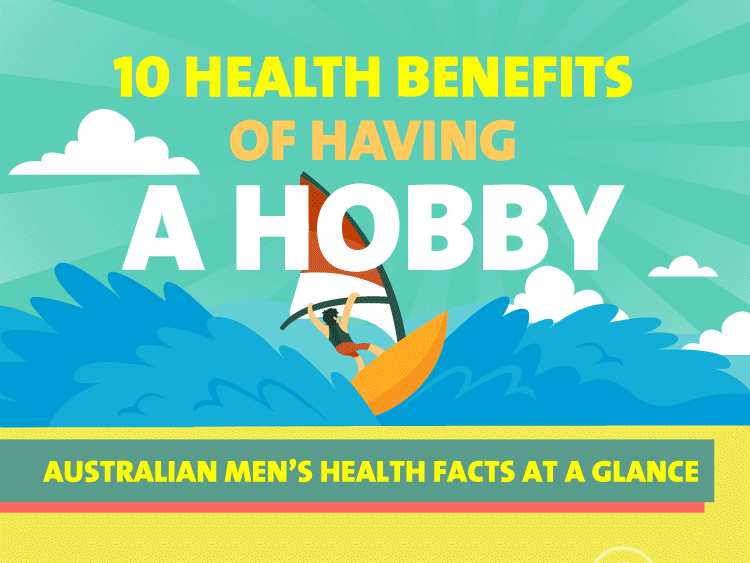 10 health benefits of having a hobby - infographic