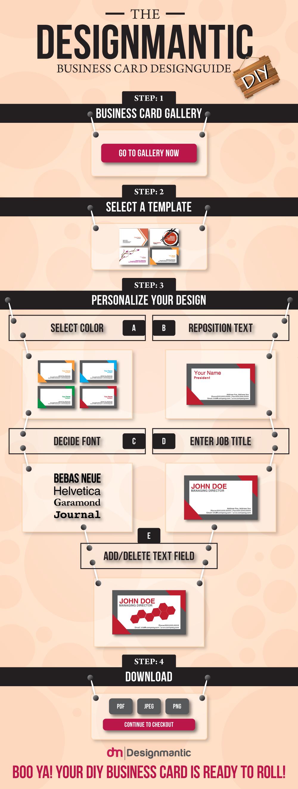 DIY Business Card Design Guide
