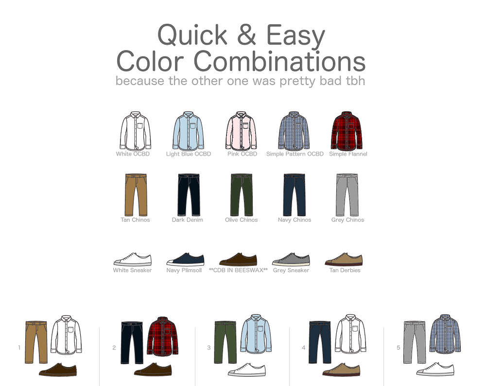 For Guys A Quick Easy Color Combination Guide For Men S Clothing,Most Beautiful Parks In The Us
