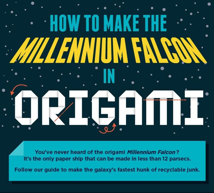 ▷ Origami Millennium Falcon (Shu Sugamata) - YouTube | Origami ... | 648x720