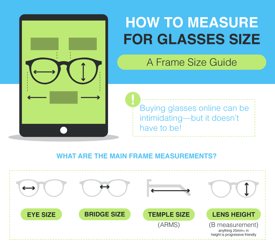 How To Measure Your Face For Glasses