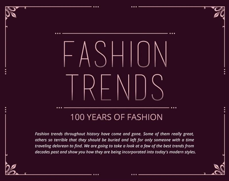 fashion infographic