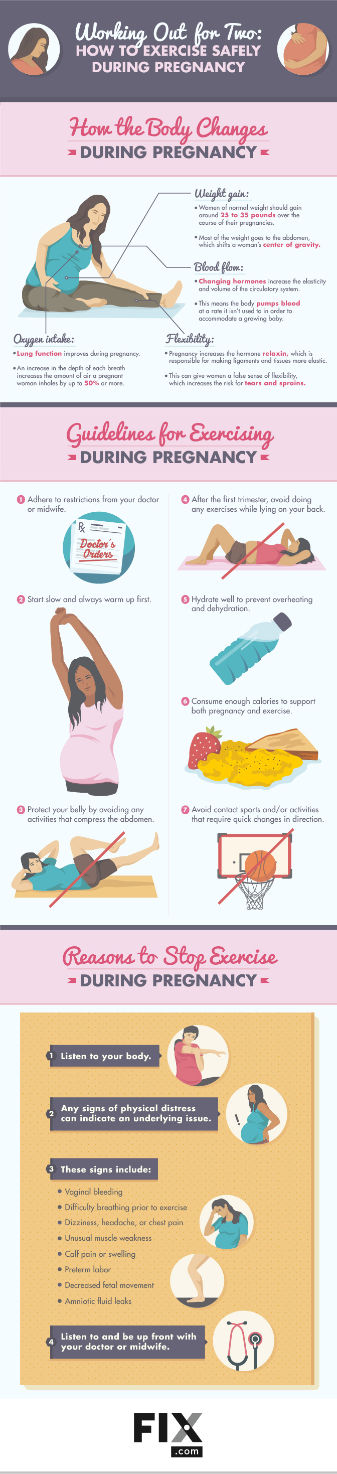 Working Out For Two How To Exercise Safely During Pregnancy