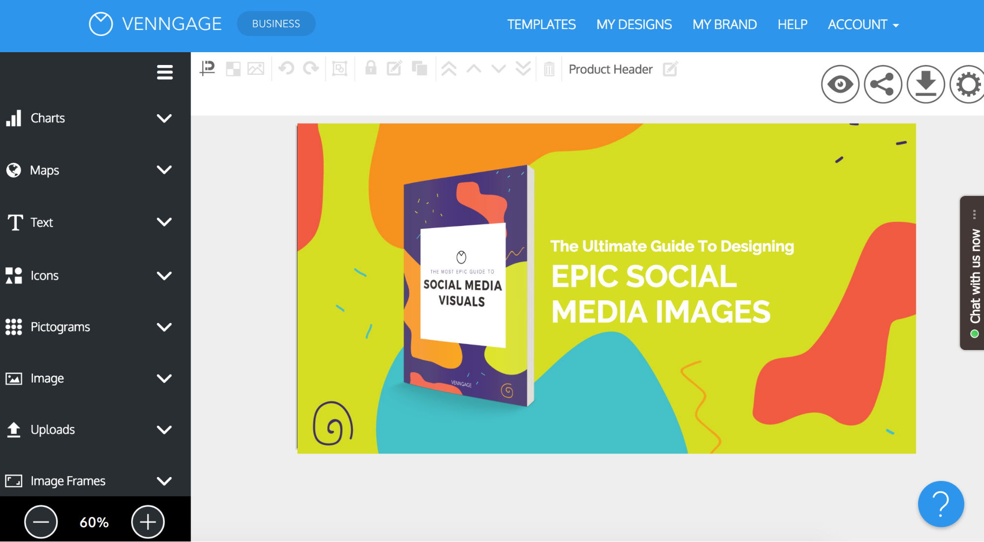 Create Highly Engaging Social Media Graphics With Venngage