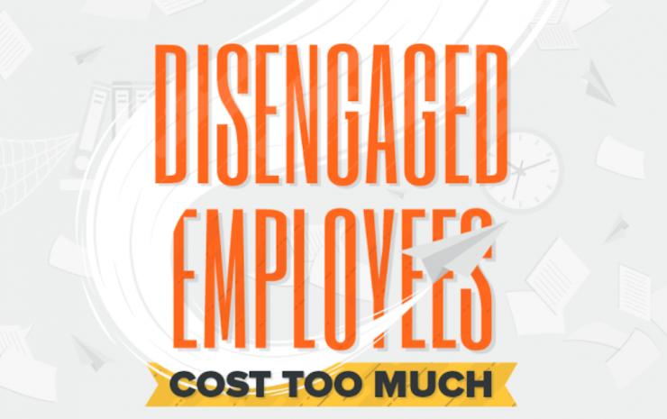 disengaged employee cost
