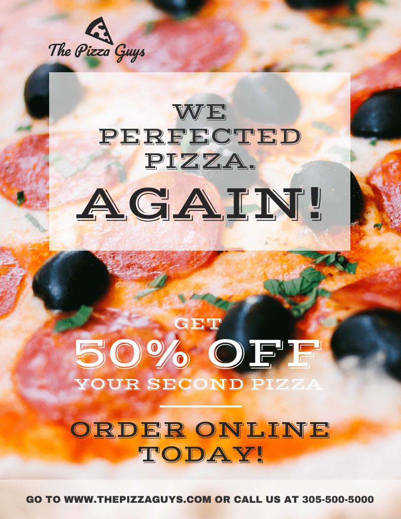examples of pizza pizza flyer designs nehabe codeemperor com