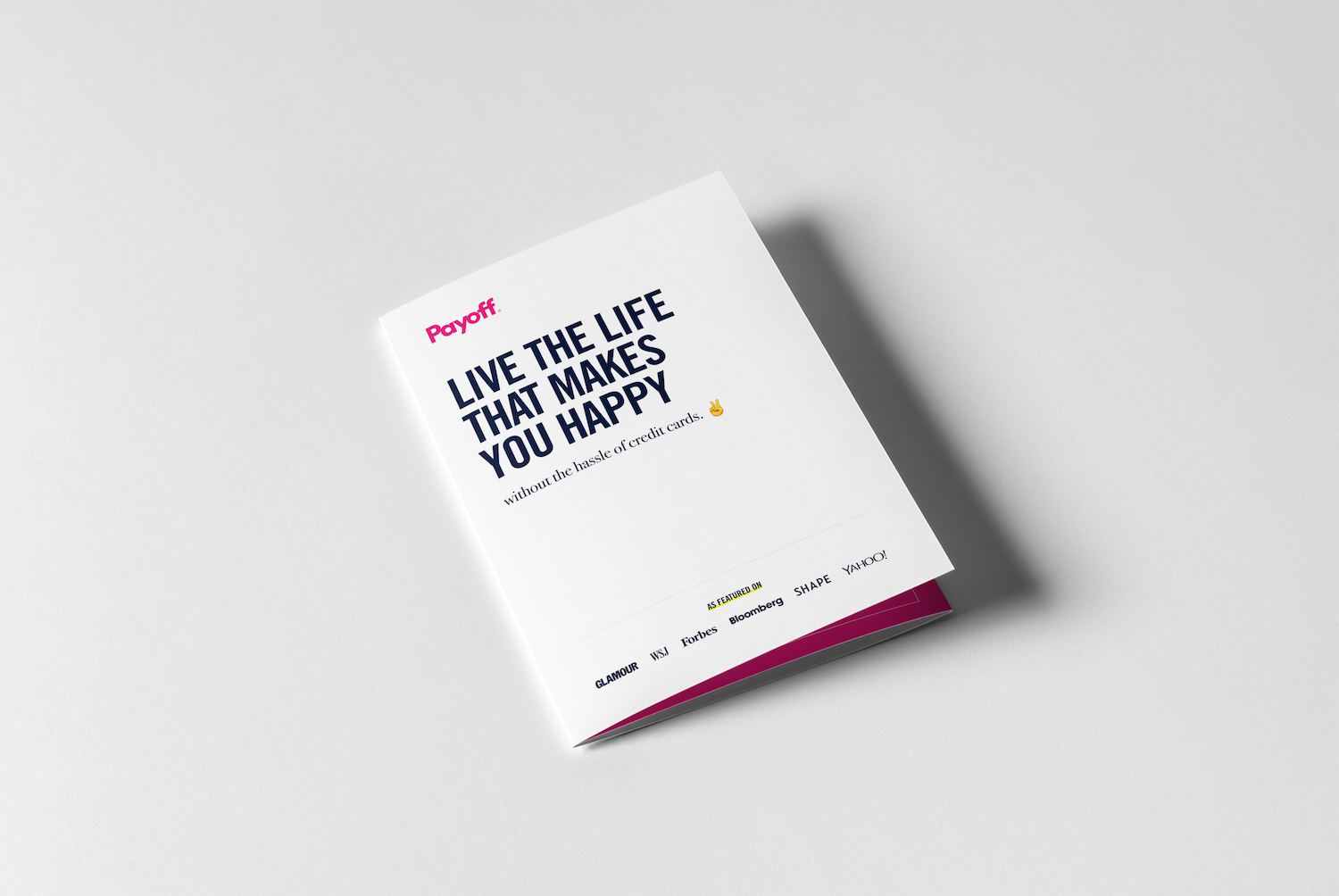 Payoff Trifold Product Brochure