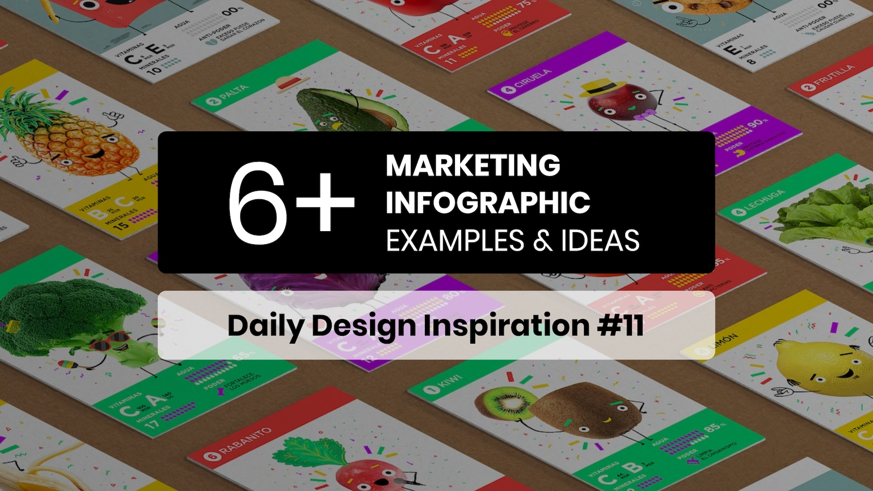 6+ Marketing Infographic Inspiration Examples & Templates - Daily Design Inspiration