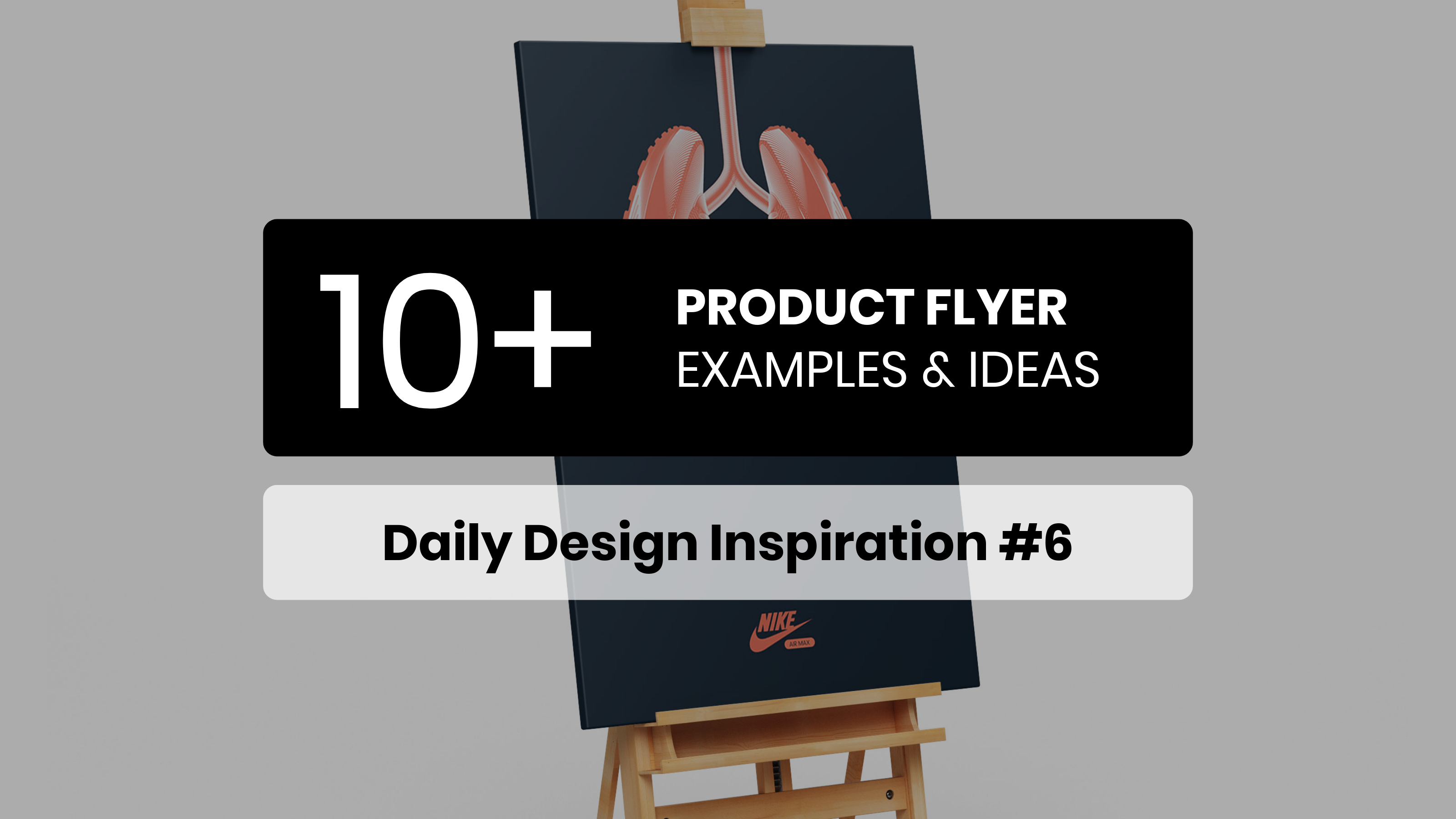 10+ Product Flyer Inspiration Examples & Templates – Daily Design Inspiration #6