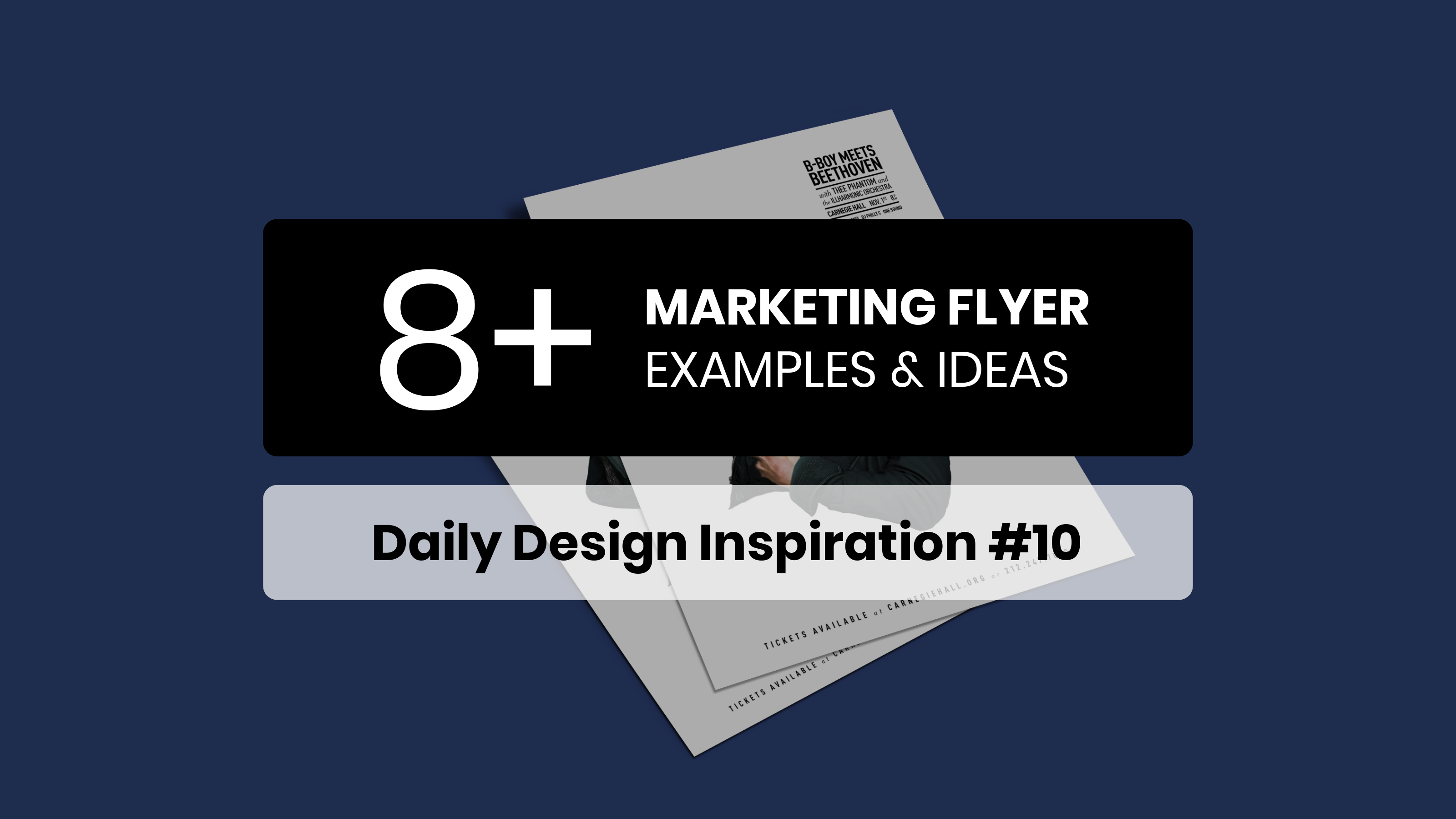 8 marketing flyer inspiration examples templates daily design