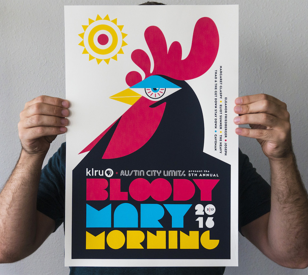 Bloody Mary Morning Poster Event Poster Design1
