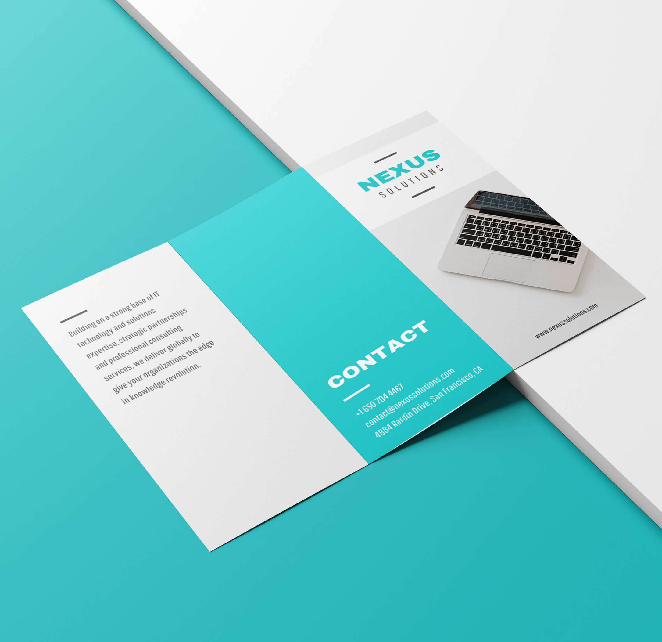 7 trifold brochure inspiration examples templates daily design