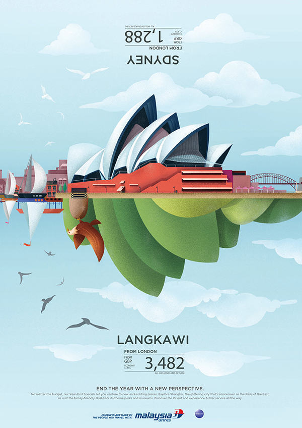 Creative Malaysia Airlines Sales Flyer Examples - Venngage ...