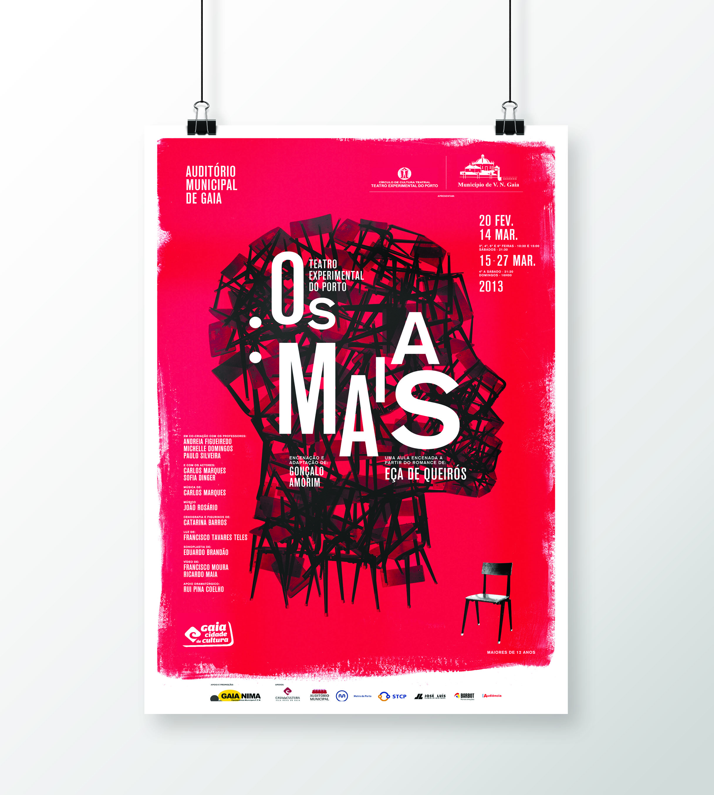 Culturally Themed Illustrated Flyer Examples