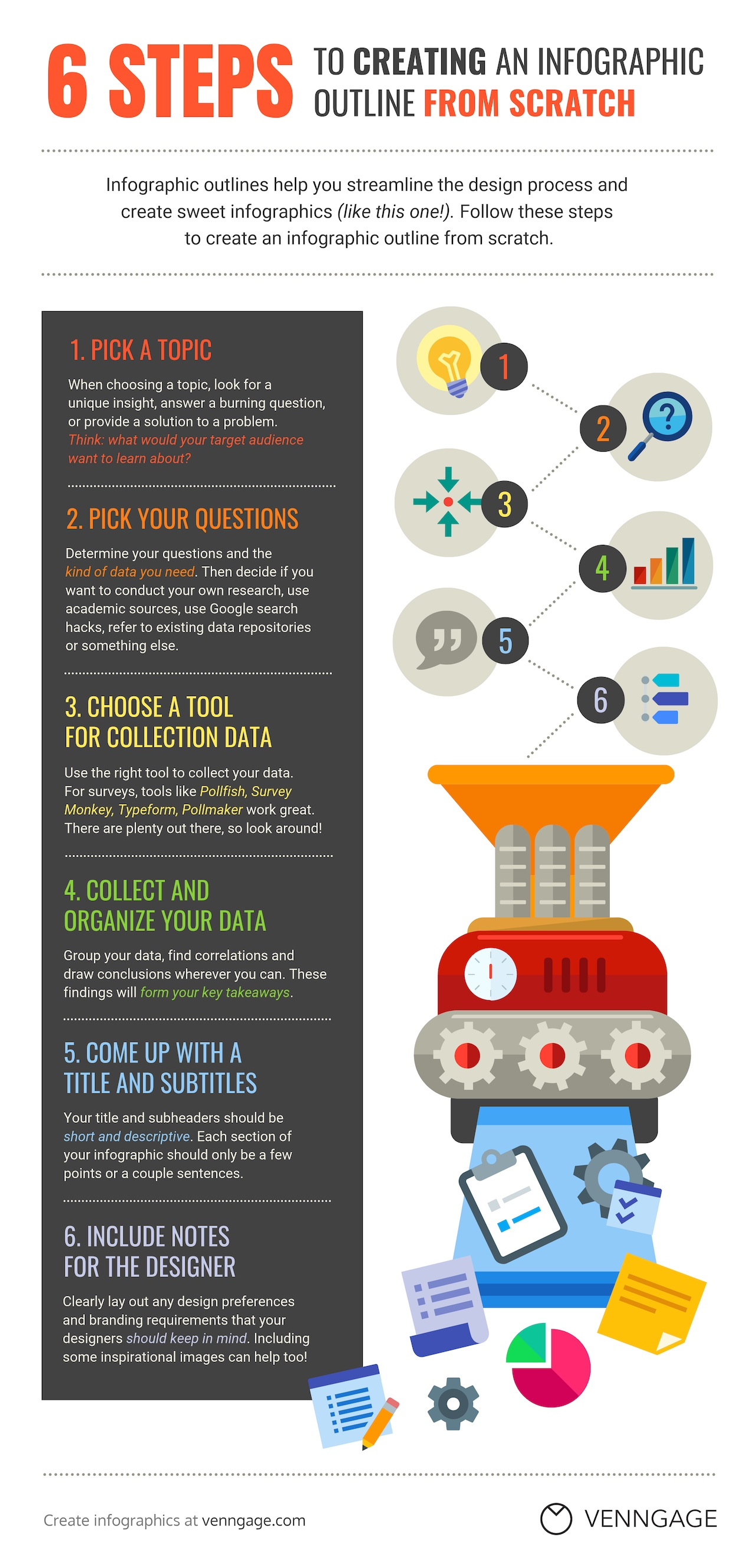 How To Create An Infographic From Scratch Infographic ...