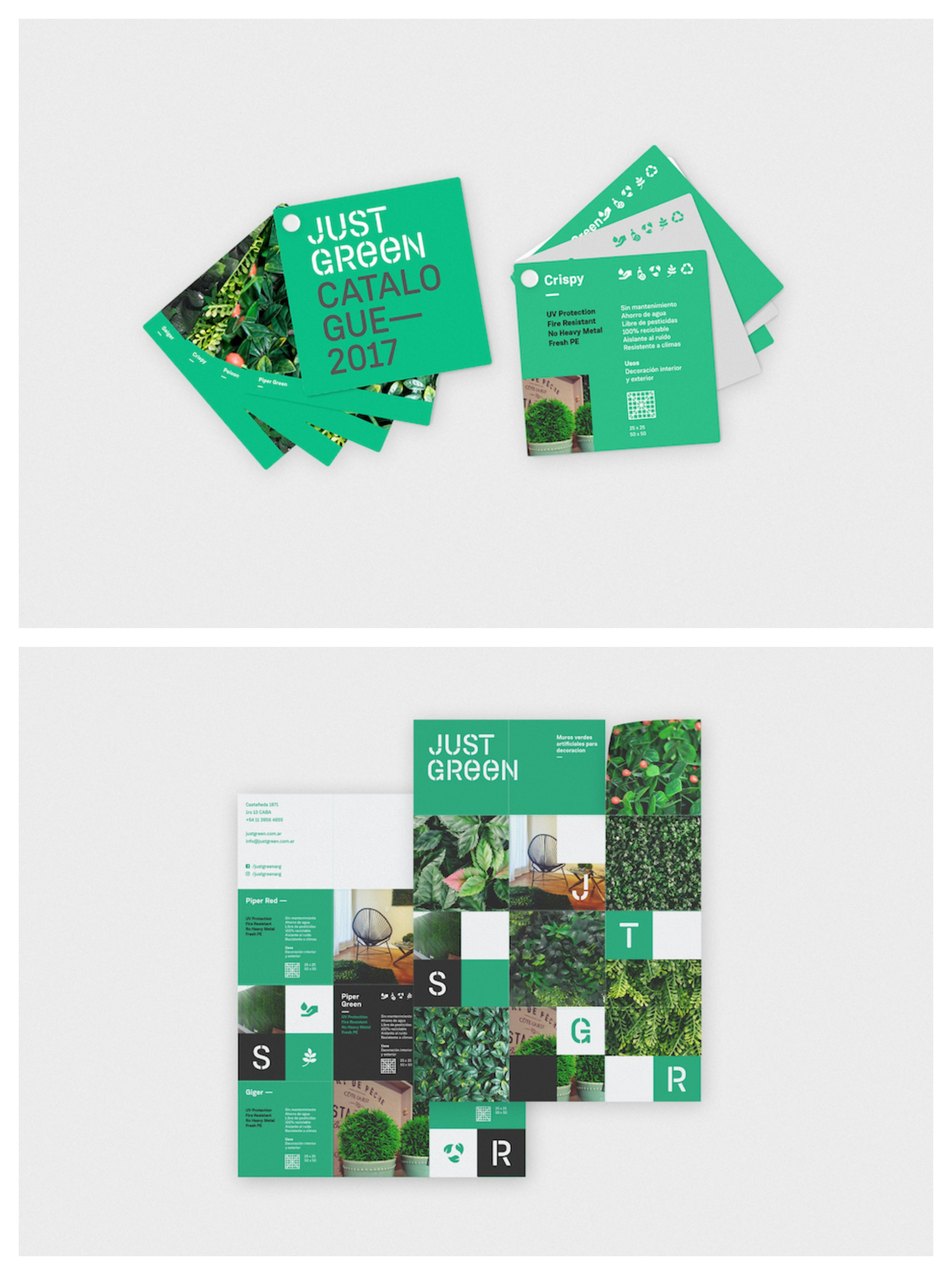 Just Green 360 Branding Brochure Example123