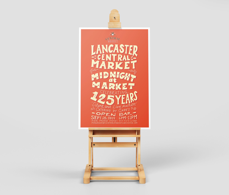 Midnight at Market Handwritten Event Flyer3