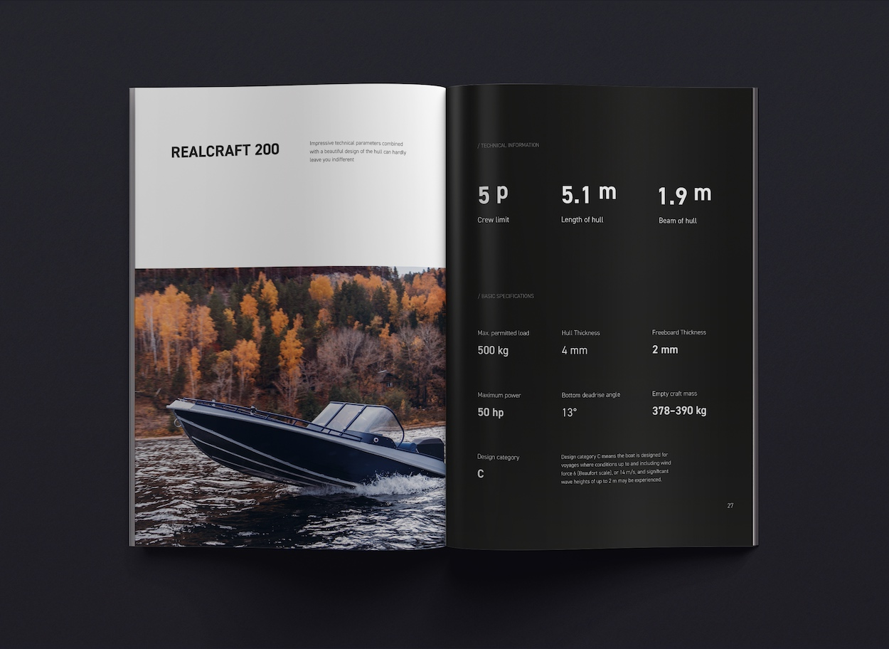 realcraft catalog product brochure example