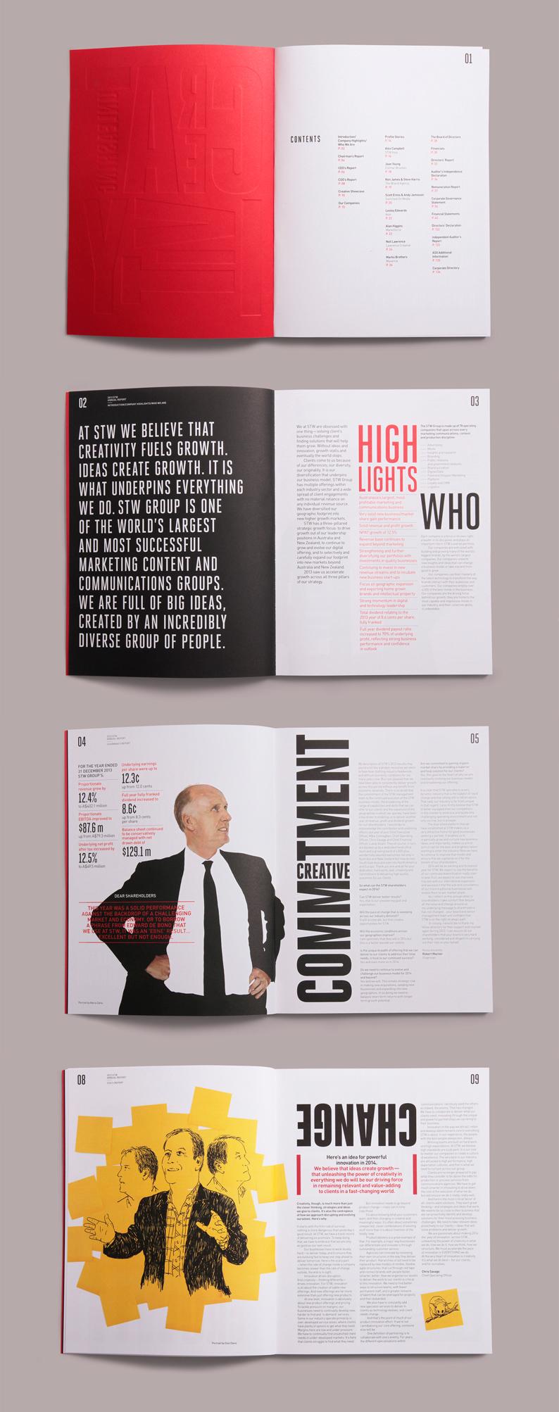 13  annual report design examples  u0026 ideas
