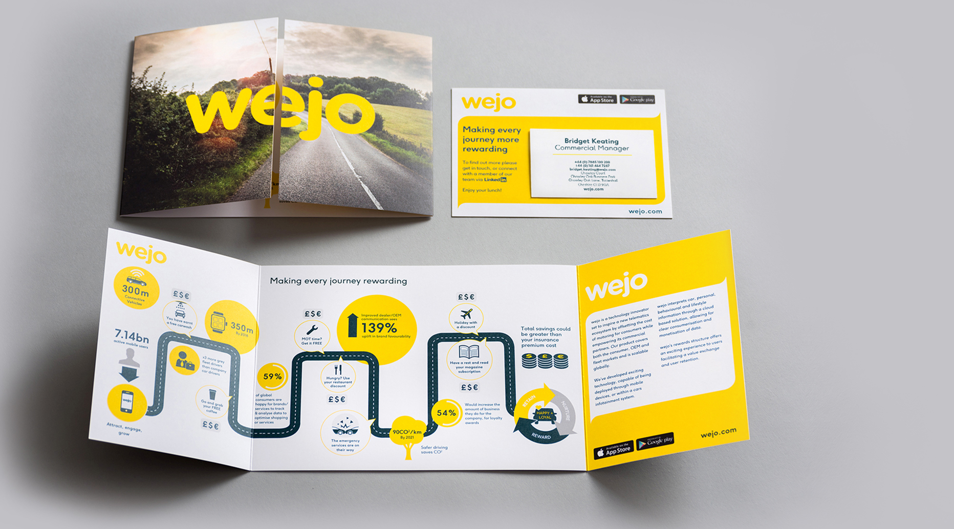 Wejo Conference Event Brochure Example1