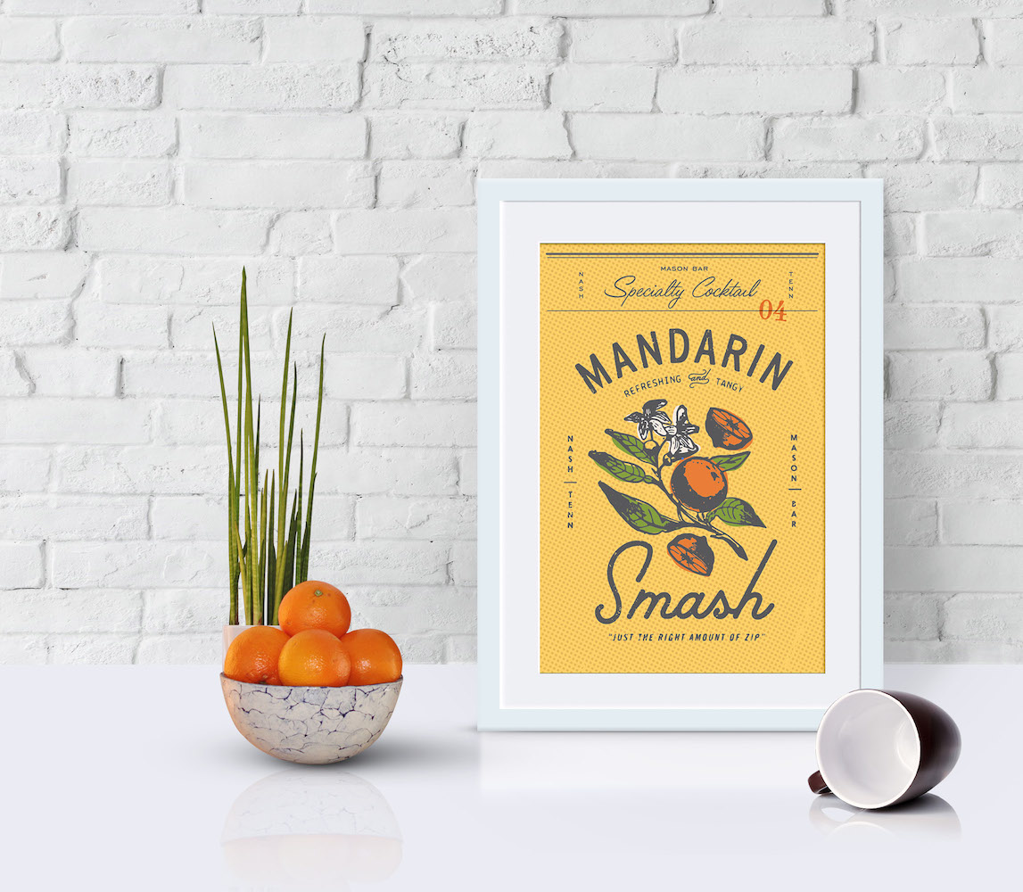 100% Tasty Colorful Product Poster Example1