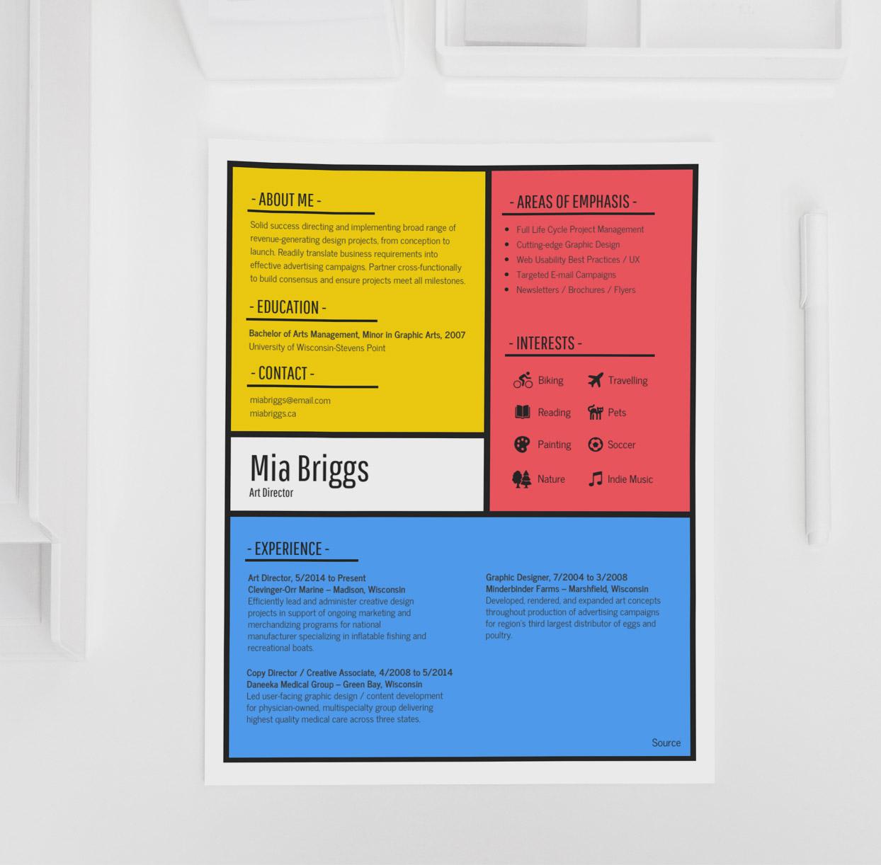 12  creative resume examples  templates  u0026 ideas  u2013 daily