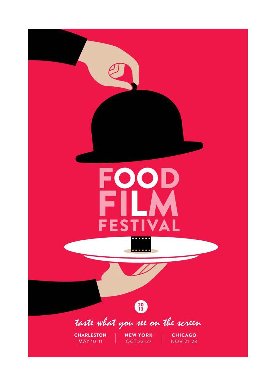 Charleston Food Film Festival Poster Example1