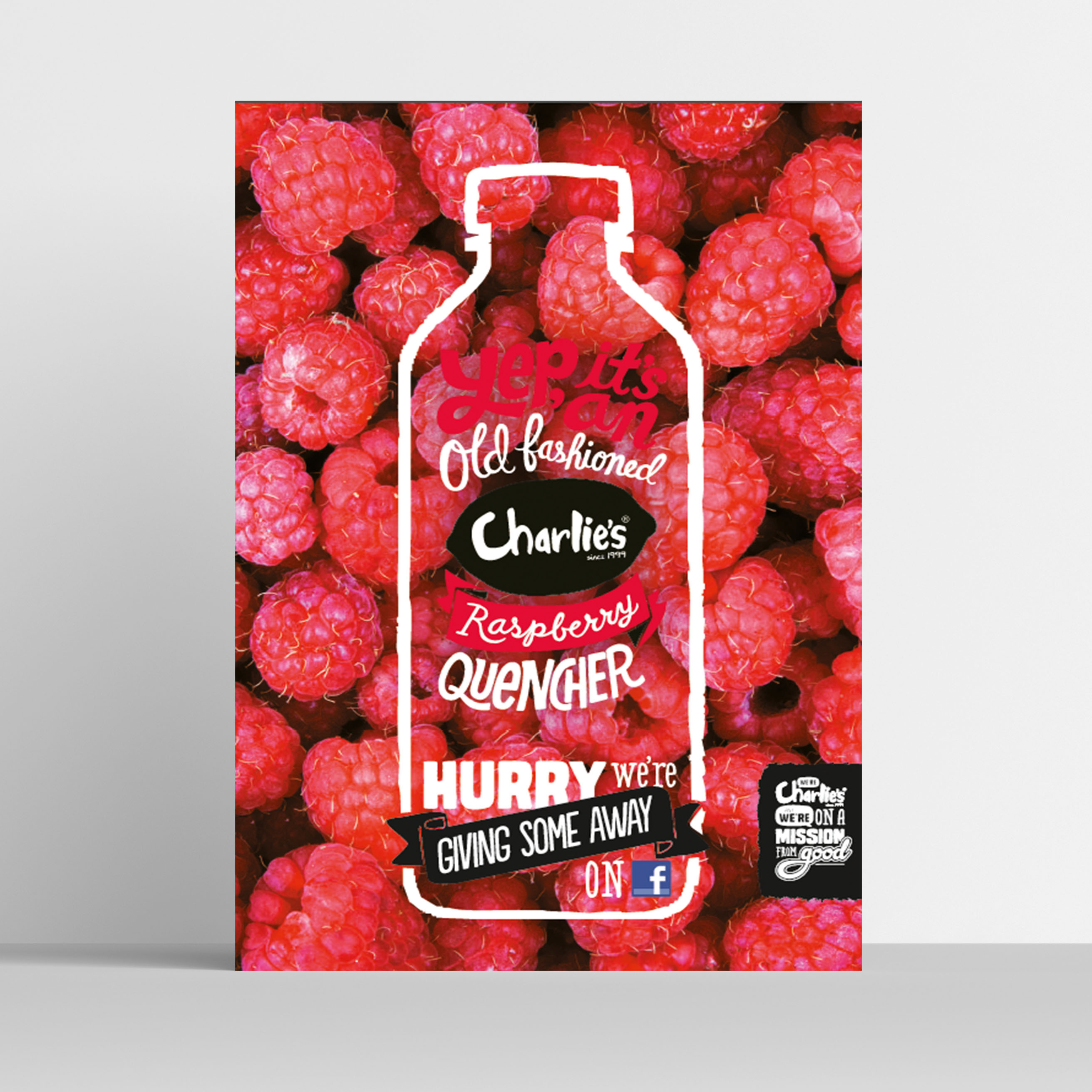 charlie u0026 39 s creative product poster example