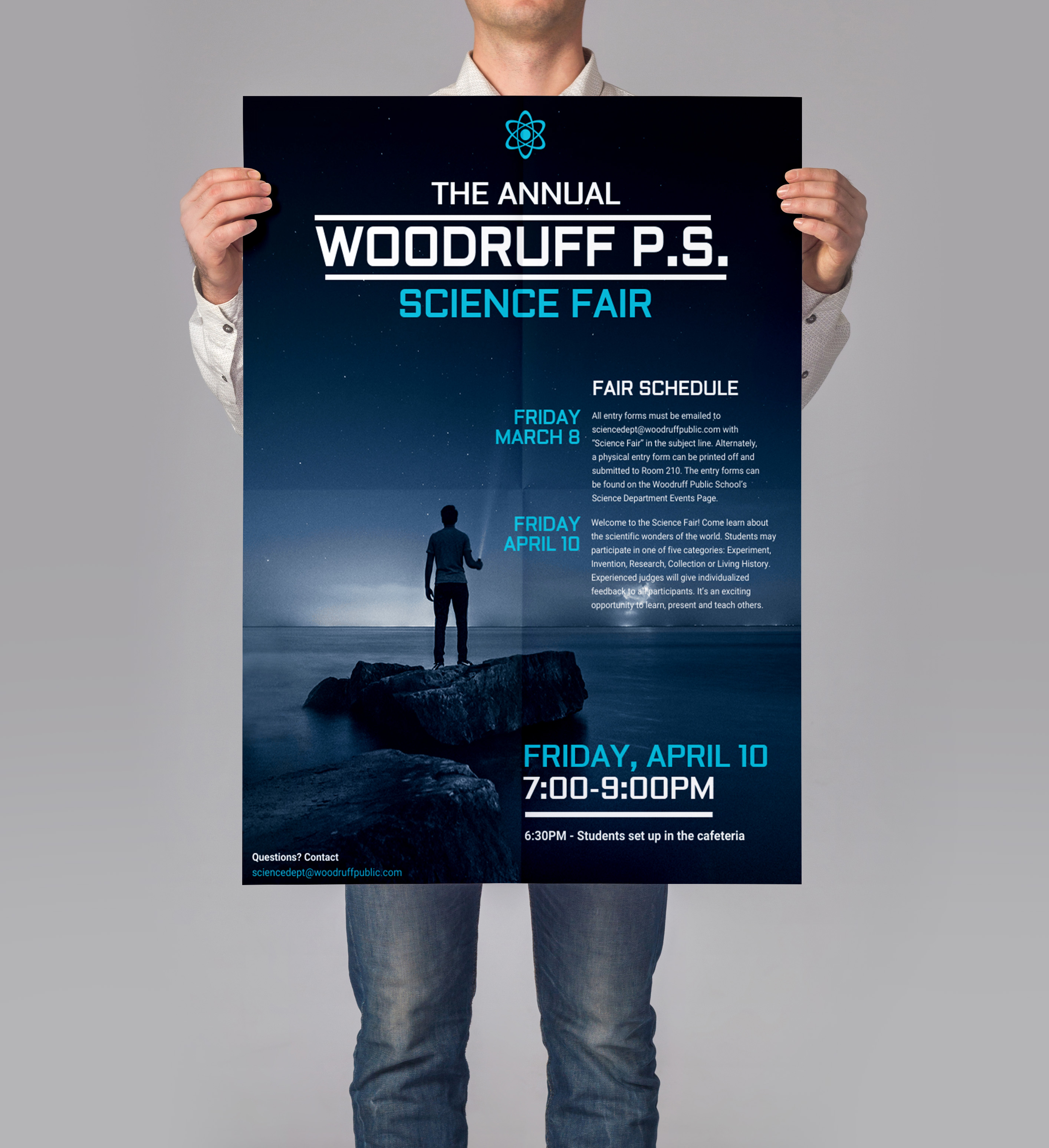 research poster design template