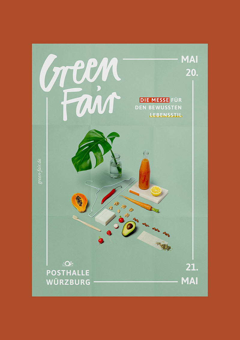 Green Fair Natural Event Poster Example4