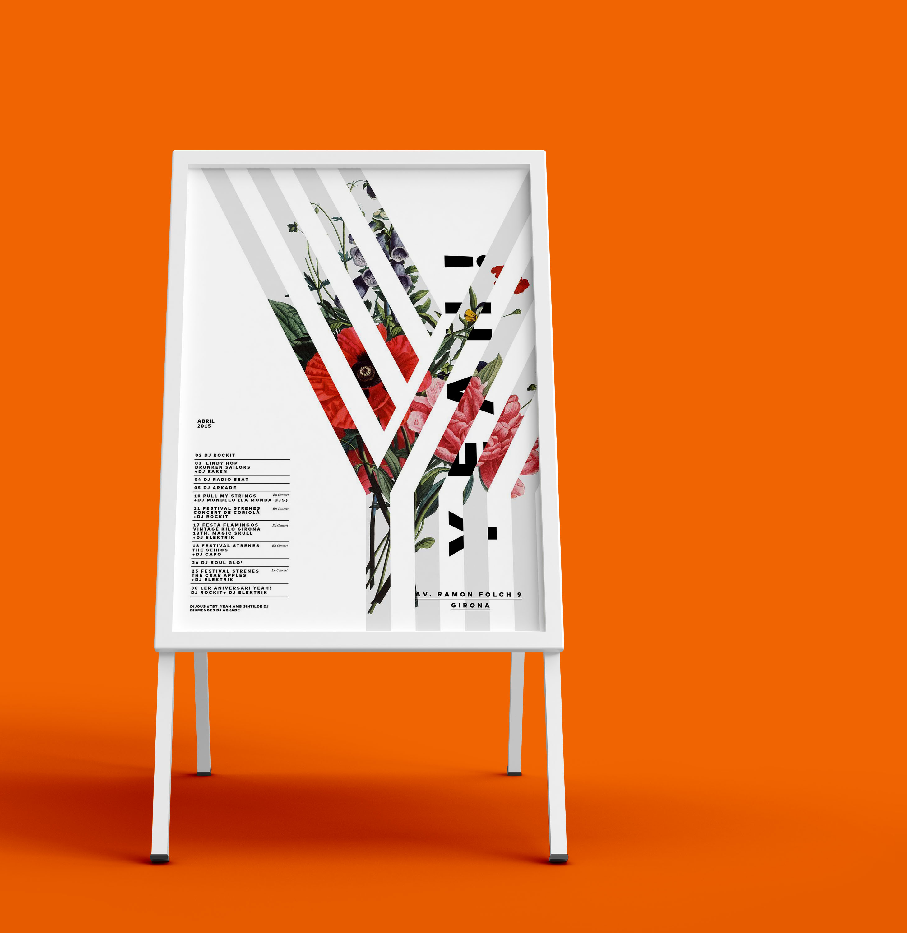 Modernist Swiss Style Poster Example1