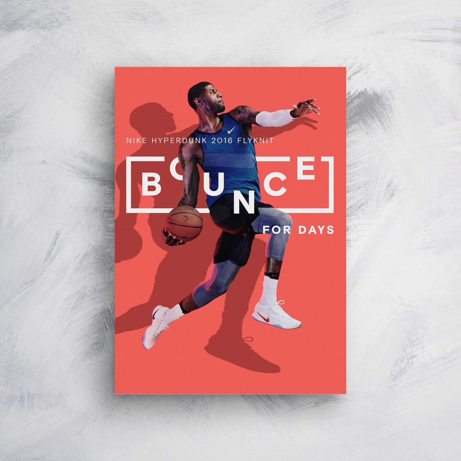 Nike Bounce For Days Product Poster Example - Venngage ...