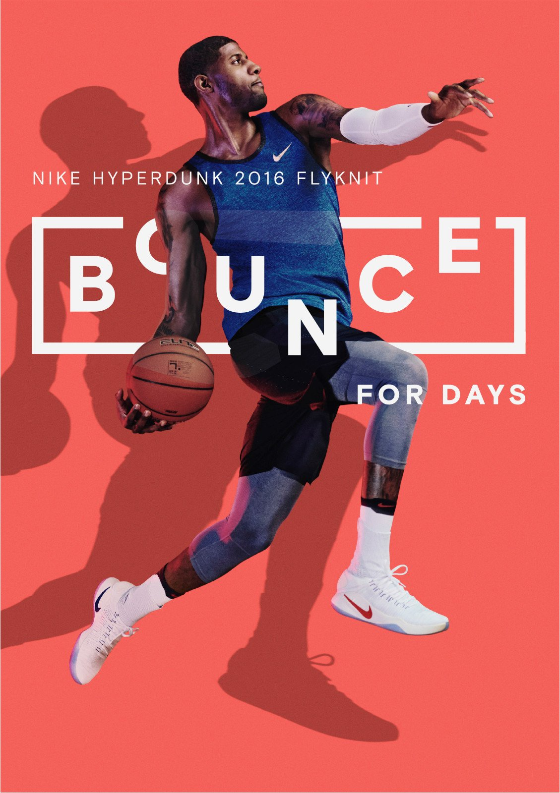 nike bounce for days product poster example