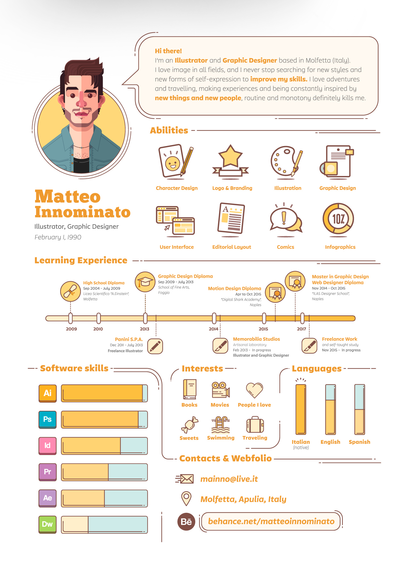 12  creative resume examples  templates  u0026 ideas  u2013 daily