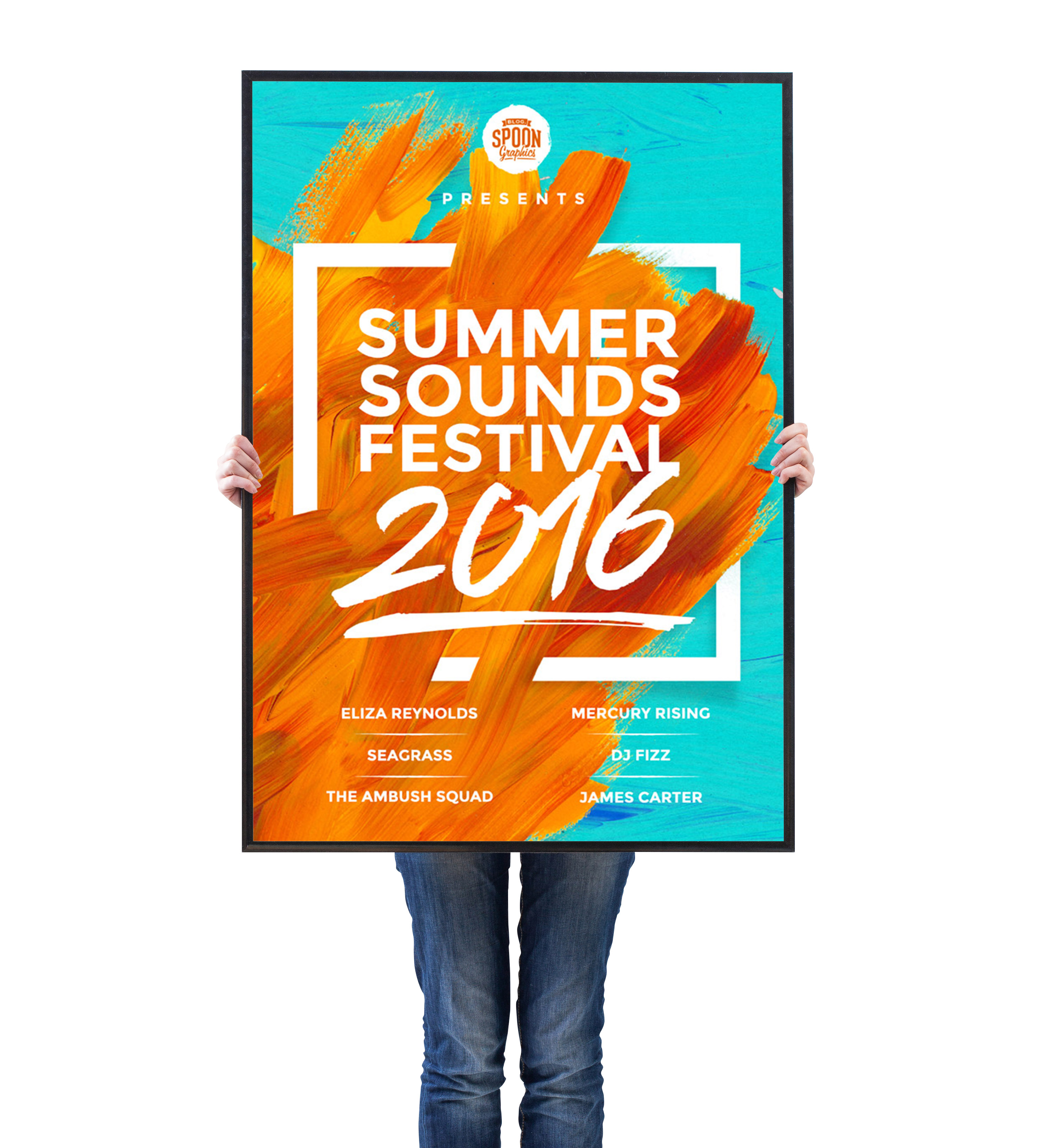 14+ Summer Event Flyers - PSD, AI, InDesign | Free ... |Summer Event