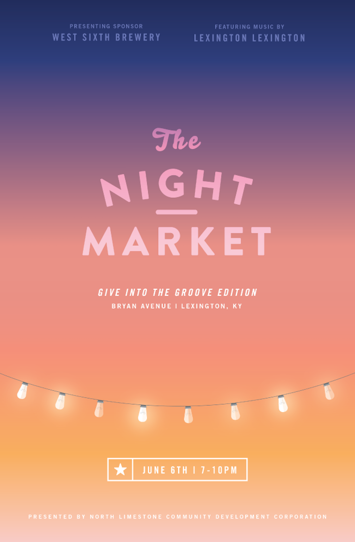 The Night Market Event Poster Examples Venngage Poster