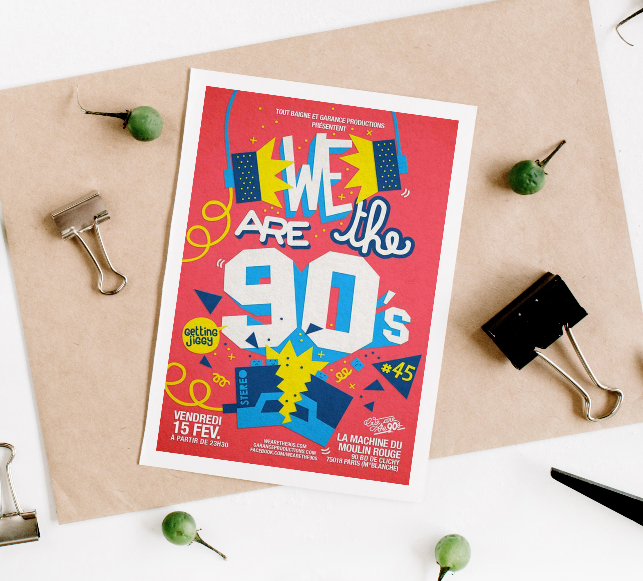 We Are The 90s Retro Event Flyer Example67
