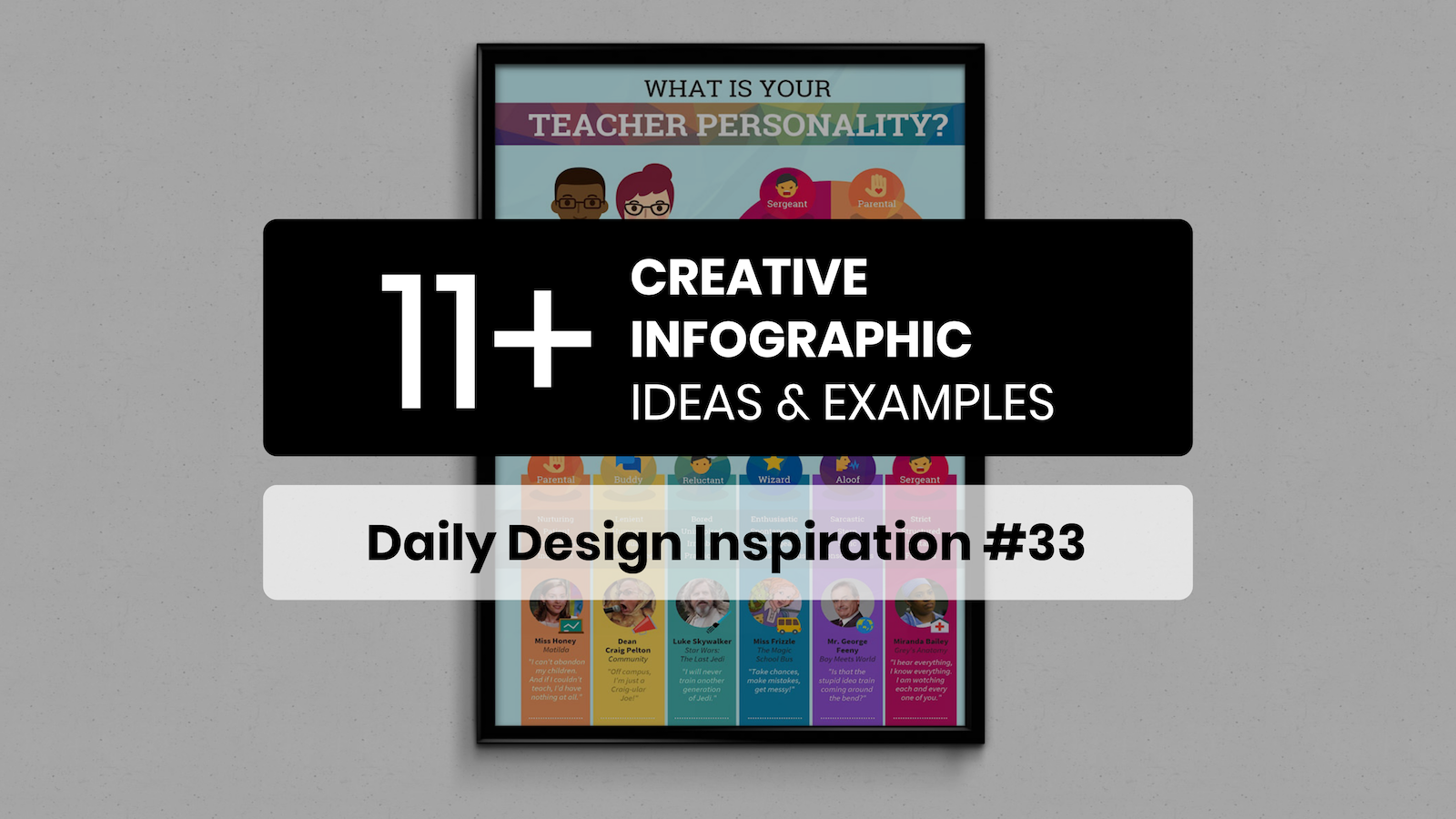 11+ Creative Infographic Ideas, Templates & Examples