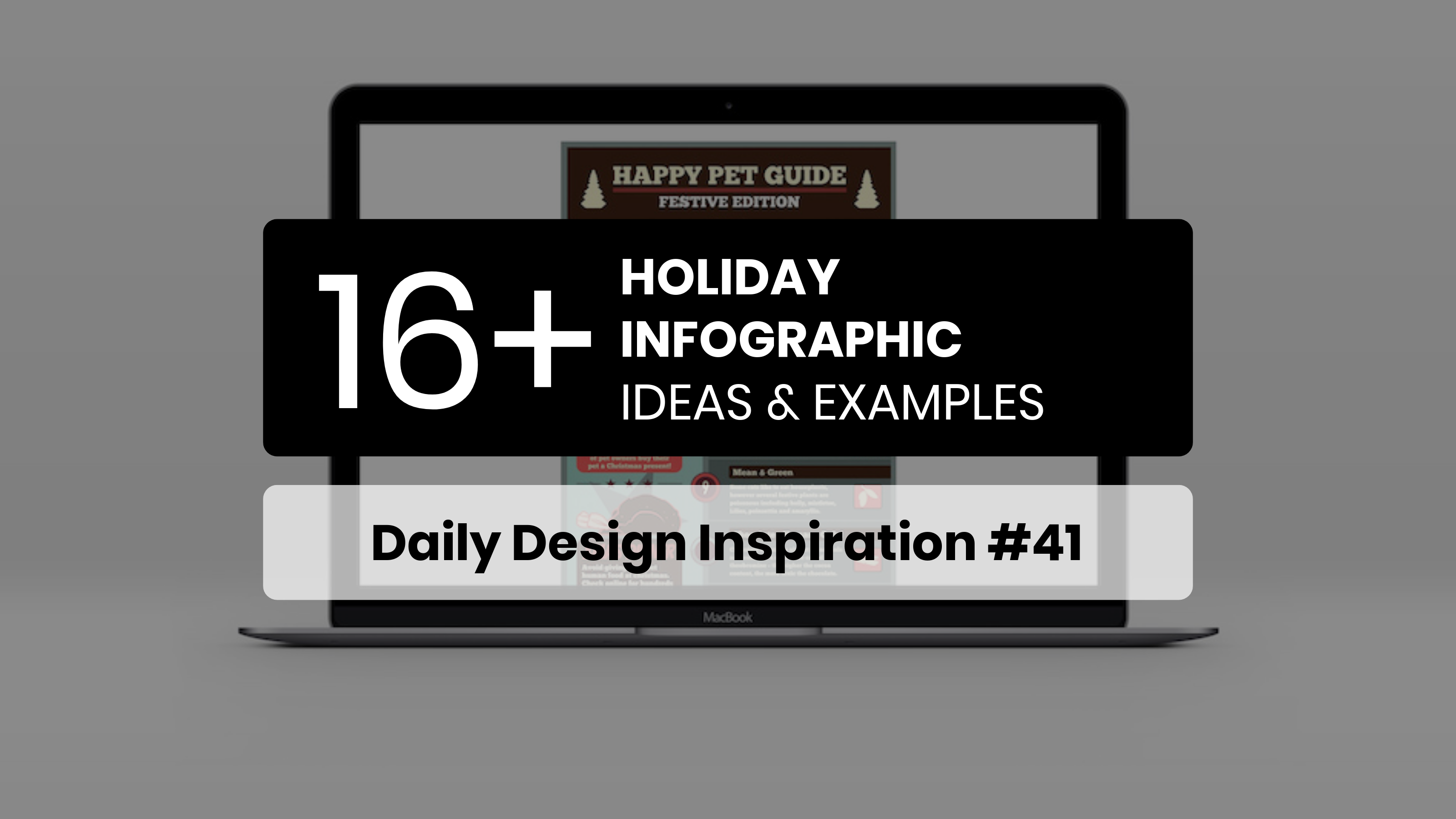 16+ Holiday Infographic Design Ideas, Examples & Templates - Daily Design Inspiration #41