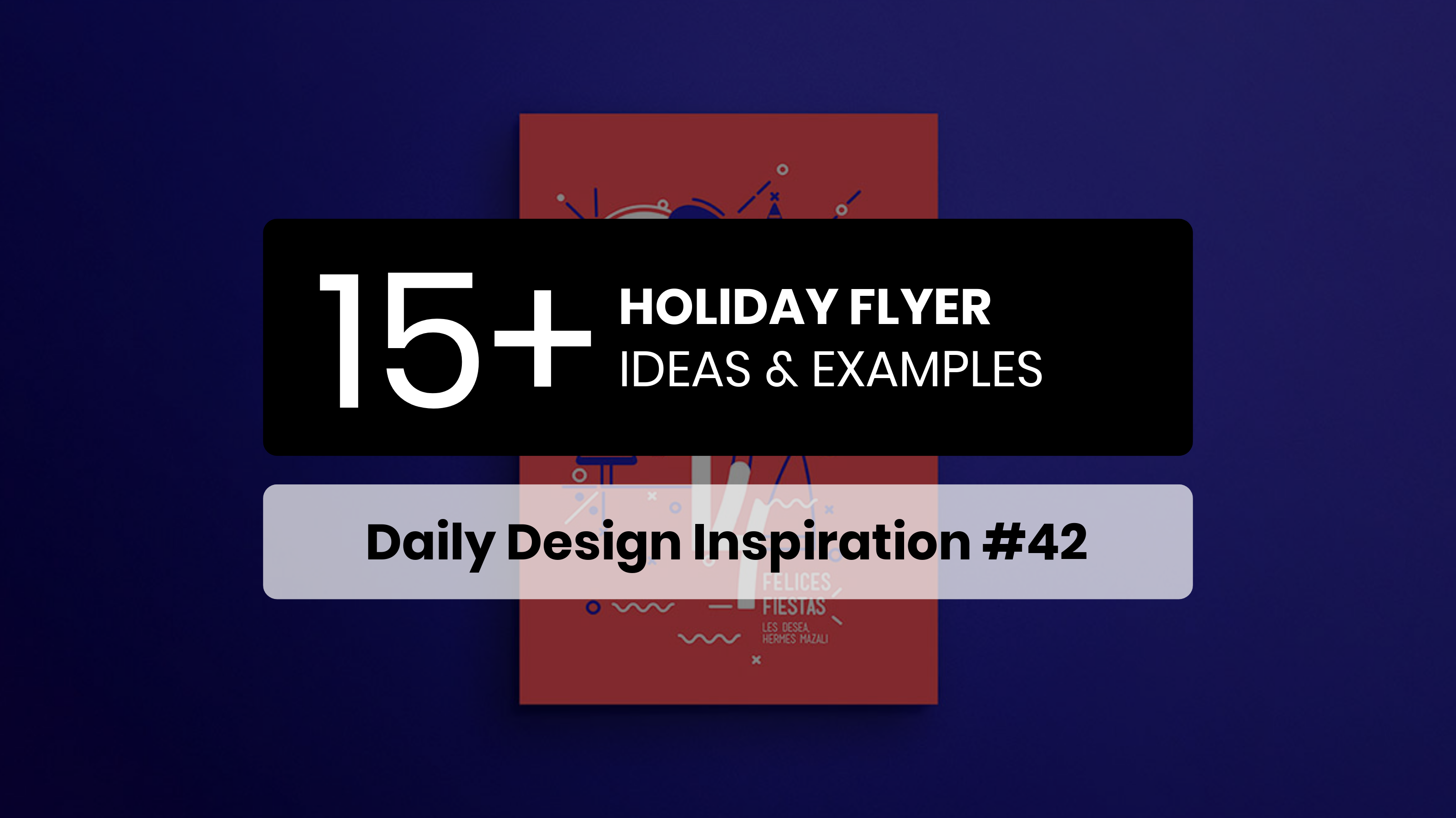 Holiday Flyer Examples