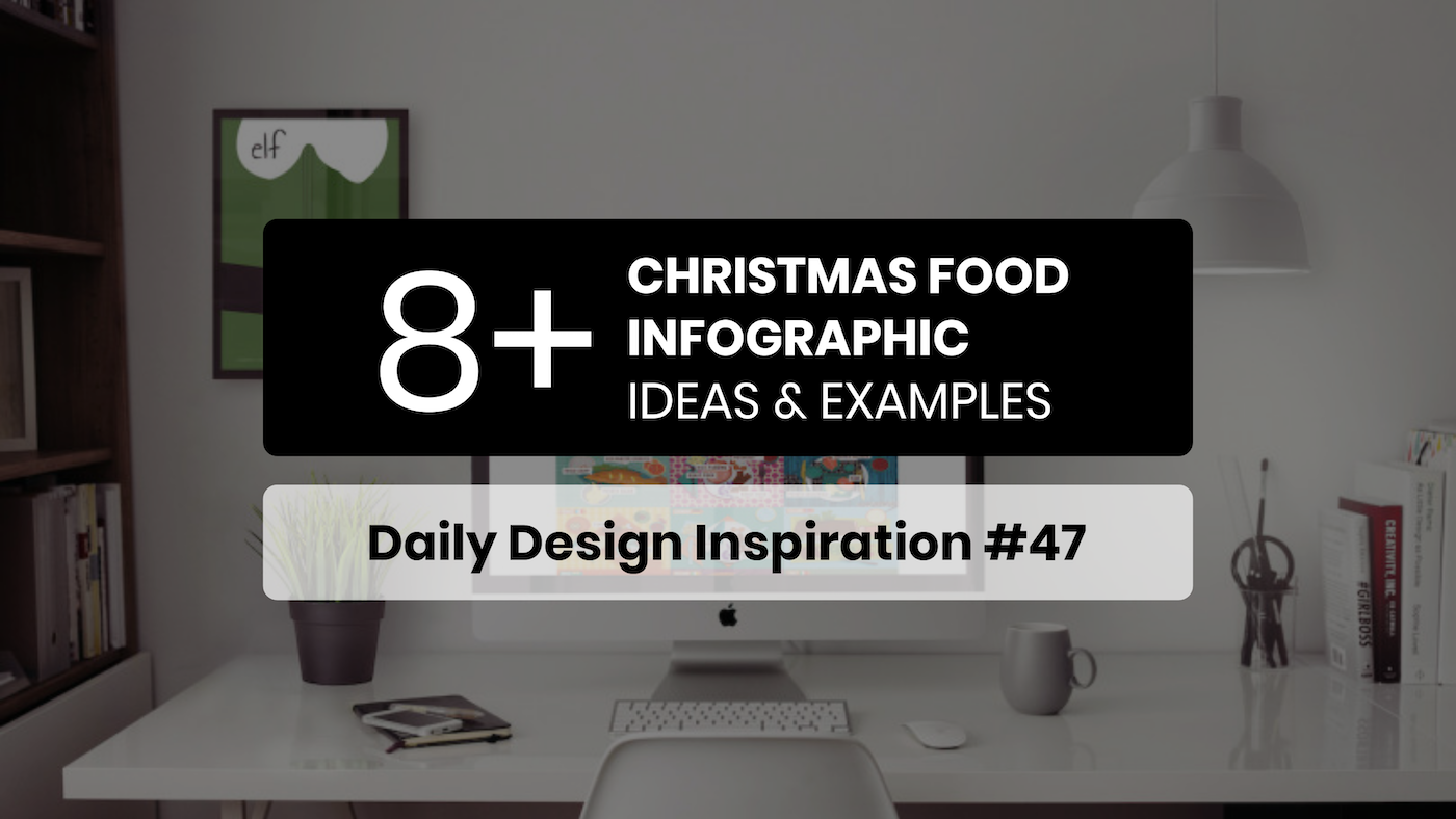 10+ Christmas Food Infographic Ideas & Examples - Daily Design Inspiration #47
