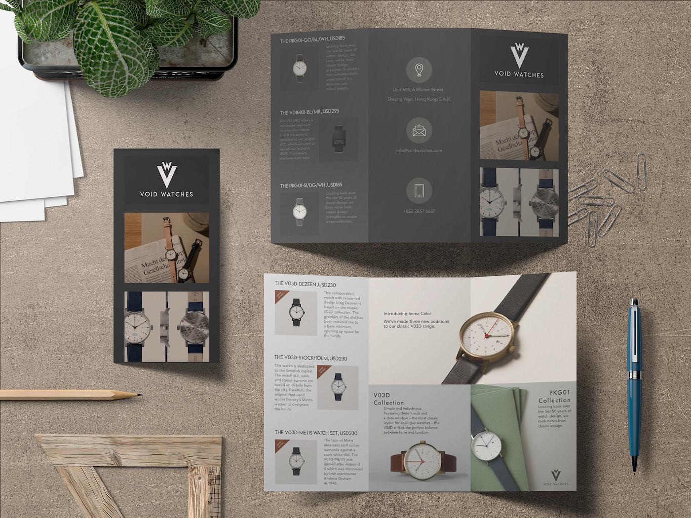 10 creative trifold brochure design examples ideas daily design